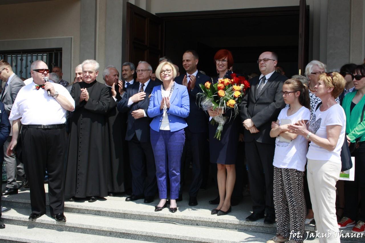 Świętowali Dzień Matki z Minister Elżbietą Rafalską