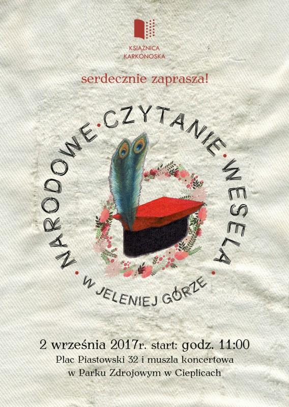 narodowe czytanie 2017 zaproszenie