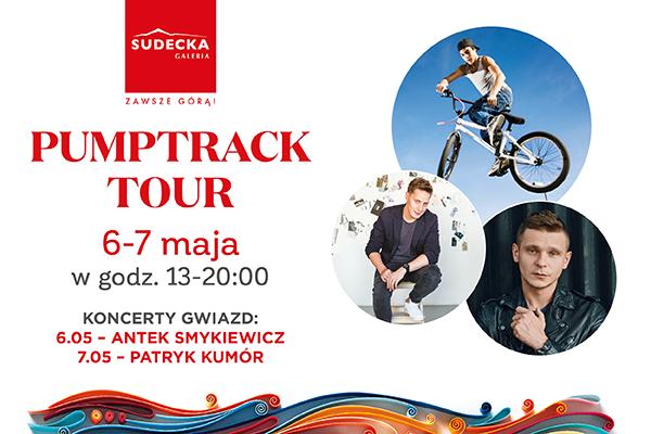 Pump track show oraz koncerty gwiazd już w ten weekend w Galerii Sudeckiej