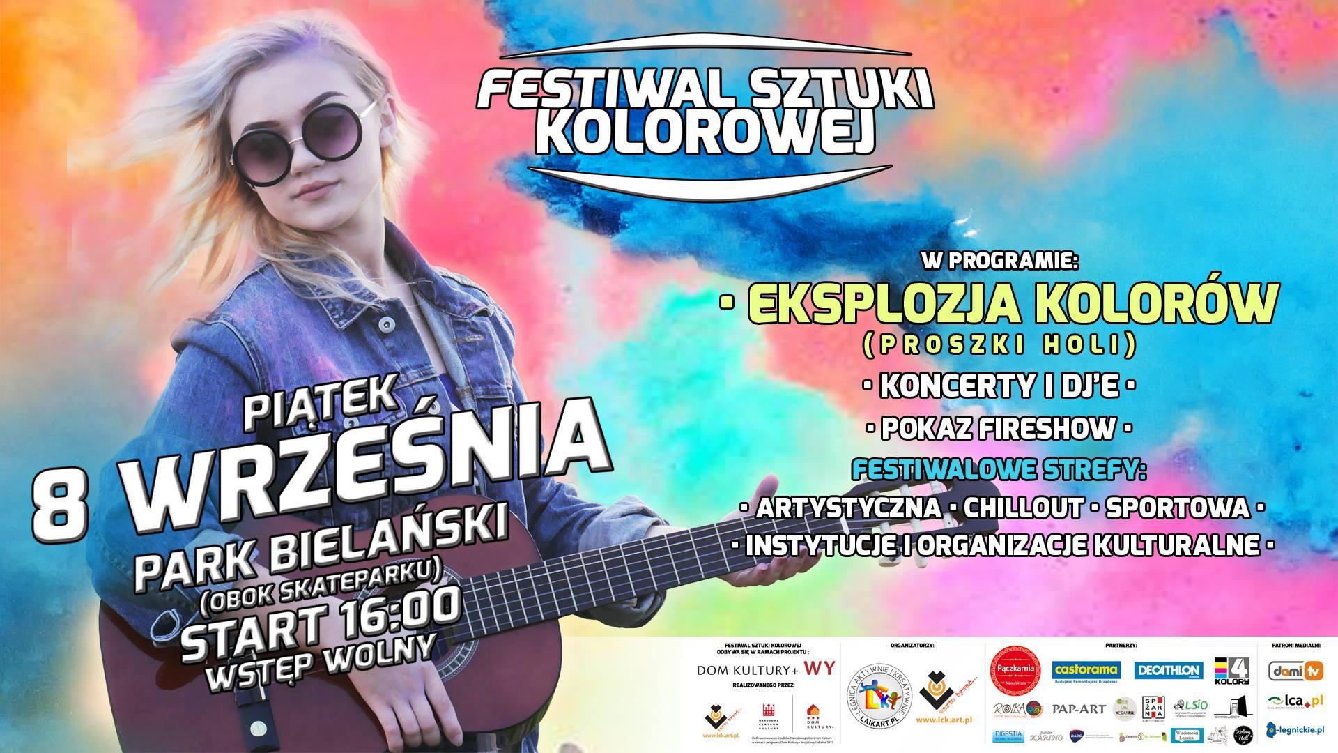 Festiwal Sztuki Kolorowej już w piątek w Legnicy!