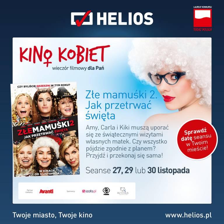 Kino Kobiet i niegrzeczna komedia w kinie Helios!