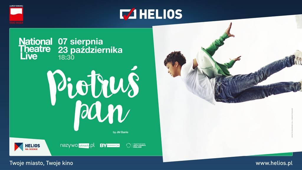 """""""Piotruś Pan"""" w cyklu Helios na Scenie!"""