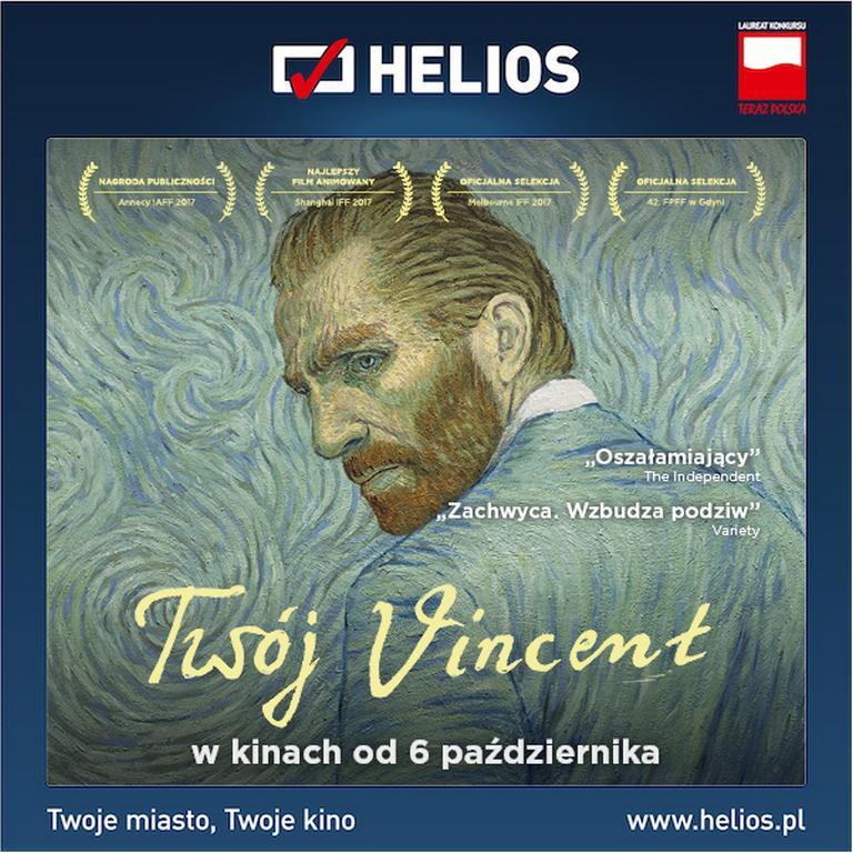 """Twój Vincent"" na ekranach kin Helios!"