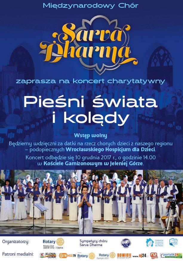 Pieśni świata i kolędy… Klub Rotary Jelenia Góa-Cieplice zaprasza