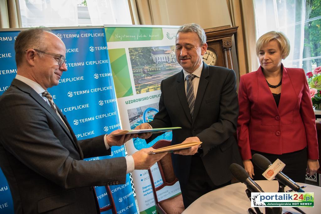 Umowa pomiędzy Termami Cieplickimi a Uzdrowiskiem Cieplice