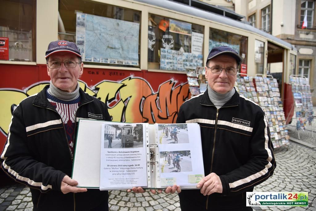 Jeleniogórskie tramwaje wspominają bracia Osipik