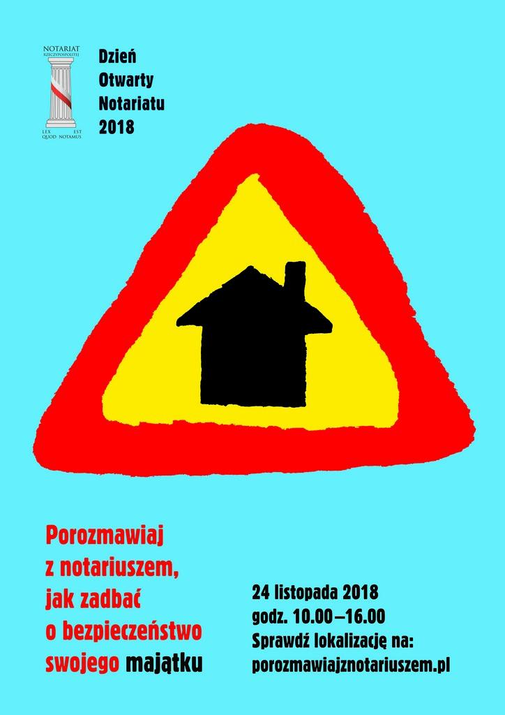 2018 plakat DON prasa wizualizacja