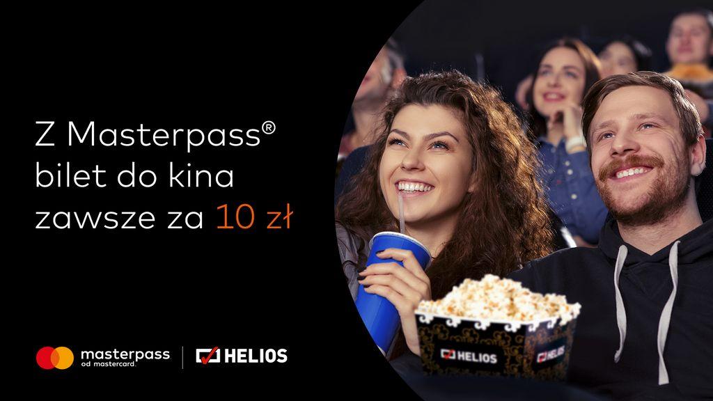 Promocja Masterpass w kinach Helios