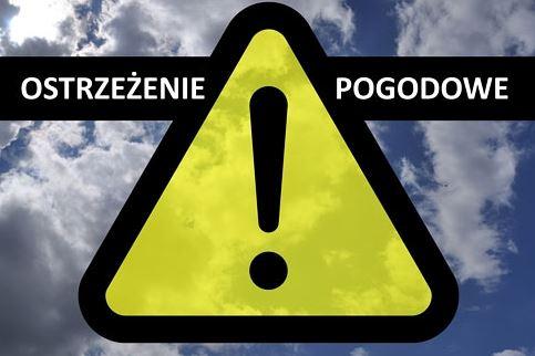 ostrzezenie meteo