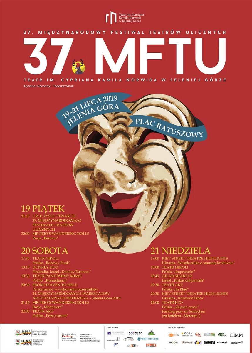 PROGRAM 37 Festiwalu Teatrów Ulicznych