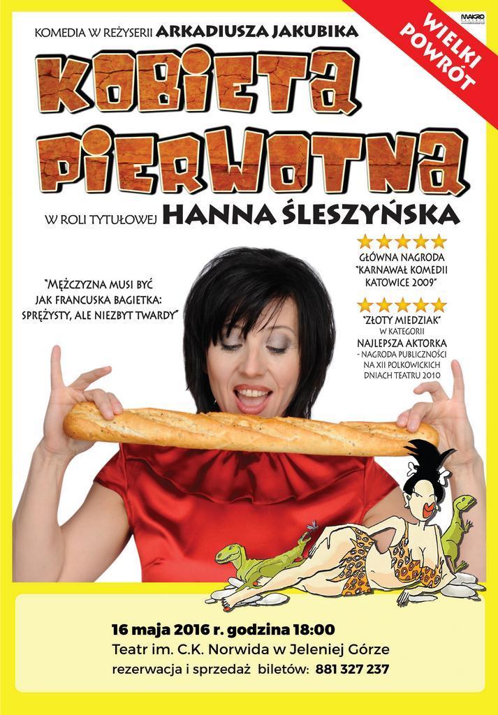 Hanna Śleszyńska… Kobieta Pierwotna
