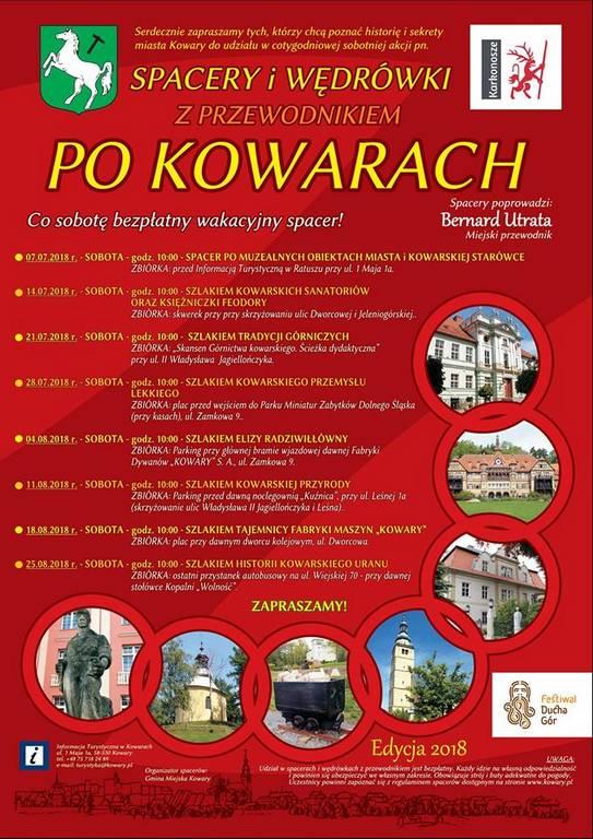 Spacery po Kowarach