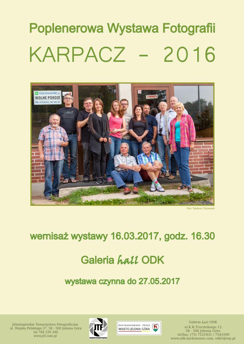 """""""KARPACZ – 2016"""" wernisaż poplenerowej wystawy fotografii"""