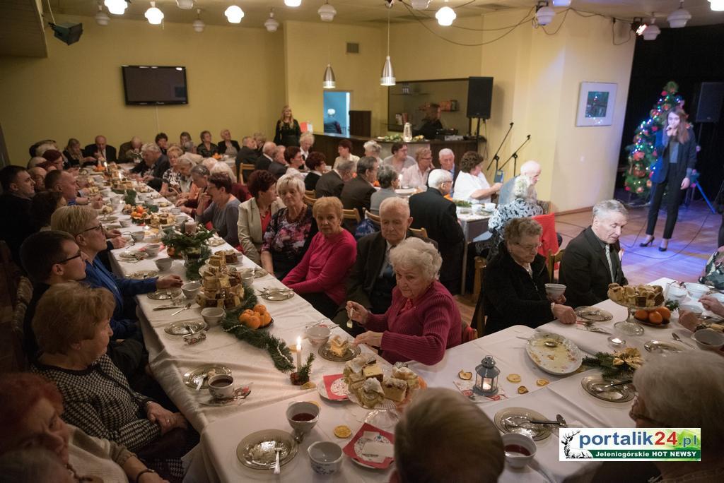 Wigilia w Klubie Seniora