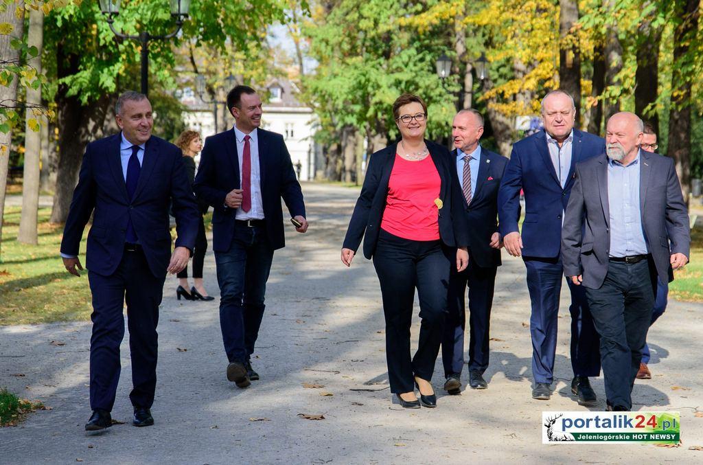 Pełne poparcie szefów PO i .Nowoczesnej dla Jerzego Łużniaka