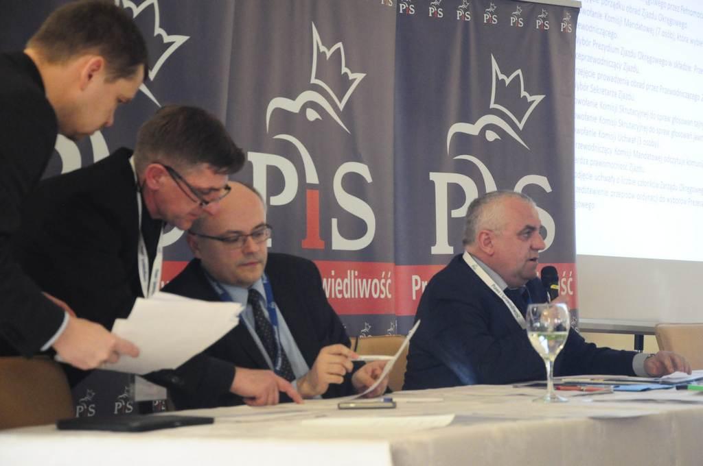 Adam Lipiński wybrany na Prezesa Zarządu Okręgowego