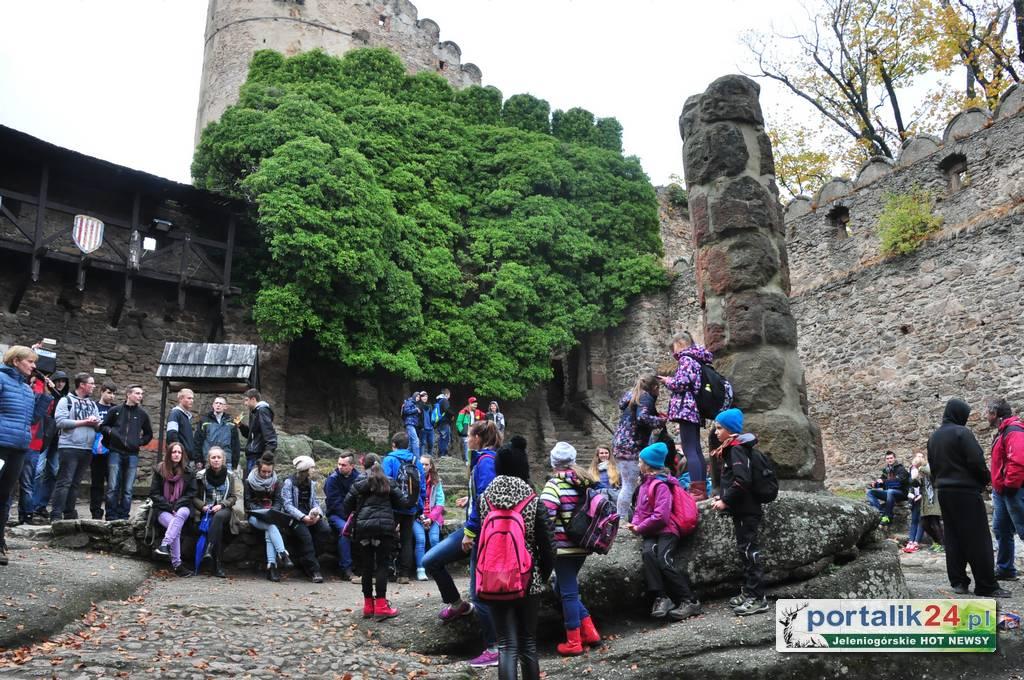 Zamek Chojnik najatrakcyjniejszy dla turystów