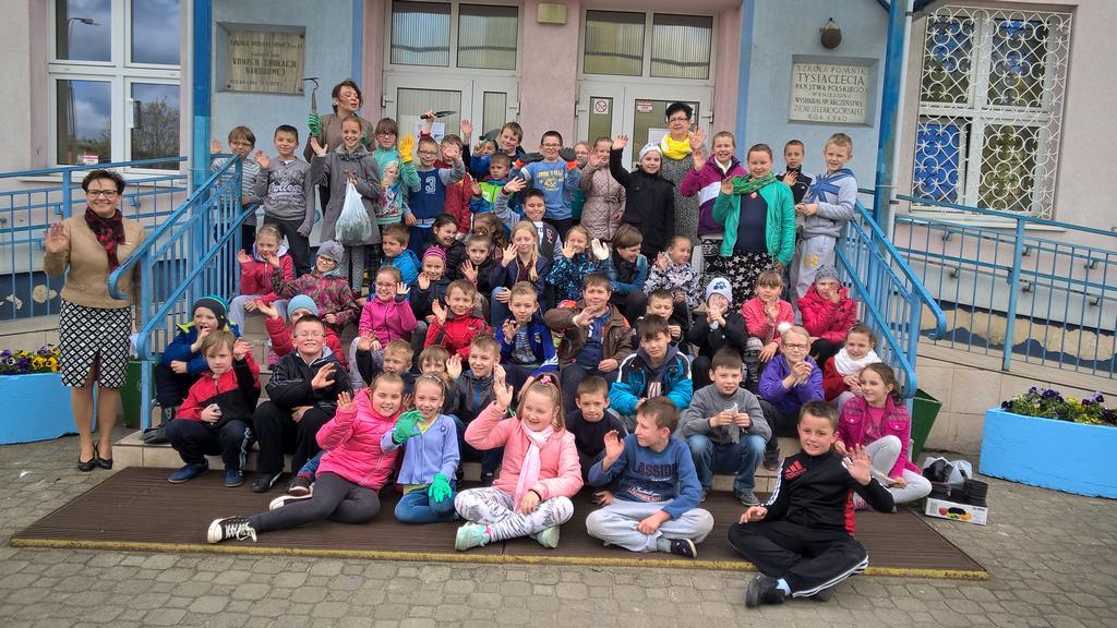 Dzień Ziemi w Szkole Podstawowej nr 13