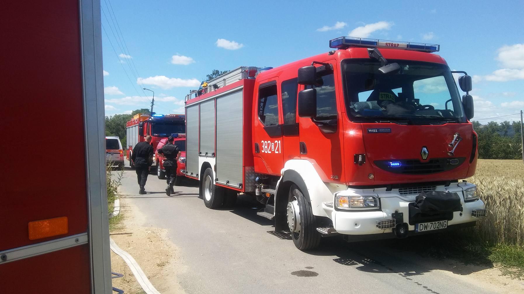 Groźny wyciek gazu w Maciejowej